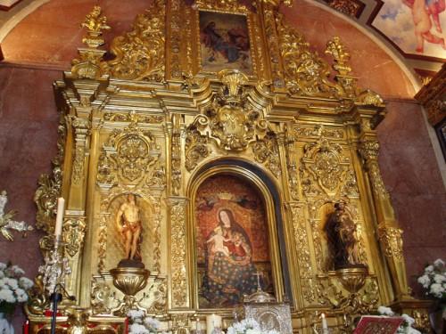 Retablo de la Virgen de la Cinta, Huelva (España).