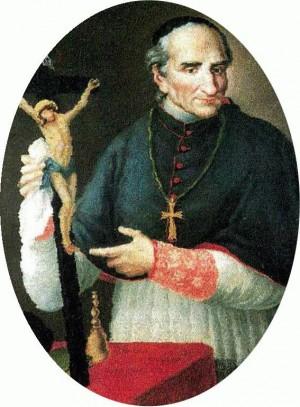 Retrato del Santo. Anónimo del siglo XIX.
