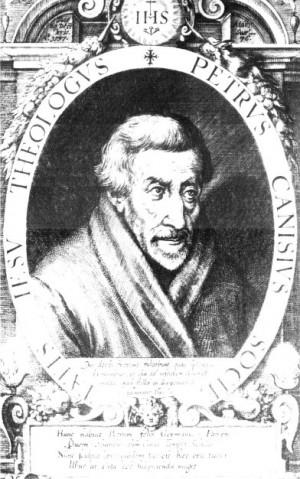 Grabado de Dominicus Custos (retrato del santo), siglos XVI-XVII.