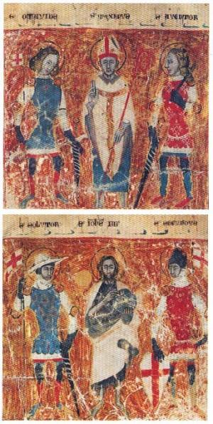 Miniatura del códice de Bérgamo.