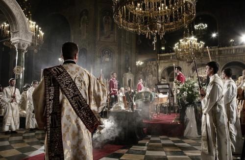 Funeral del patriarca Máximo de Bulgaria.