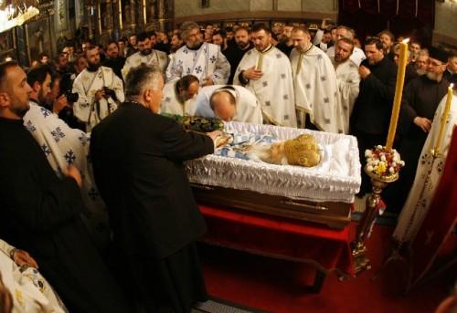 Funeral del Patriarca Pavel de Serbia.