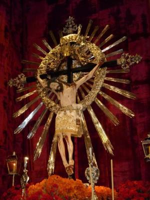 Imagen del Señor del Milagro de Salta, Argentina.