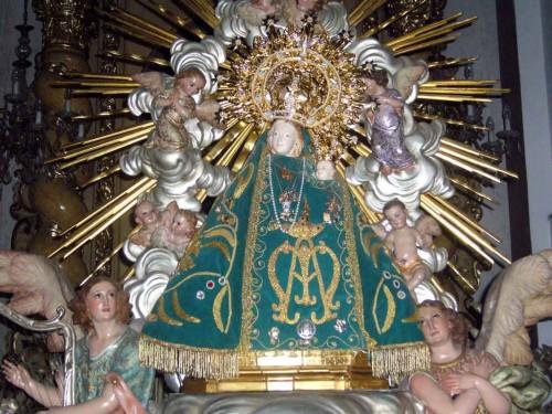 Imagen de Nuestra Señora de Campanar.