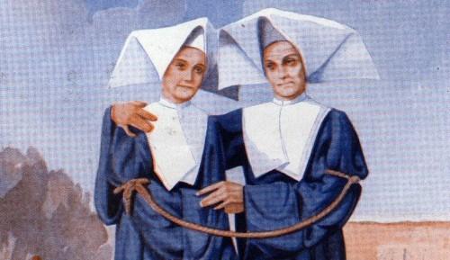 Ilustración de las Beatas Odile Baumgarten y Marie-Anne Vaillot.