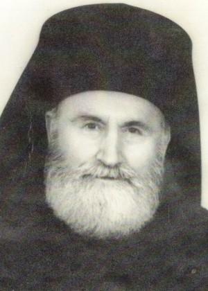 Fotografía del padre Juan Iovan de Recea, ya anciano.