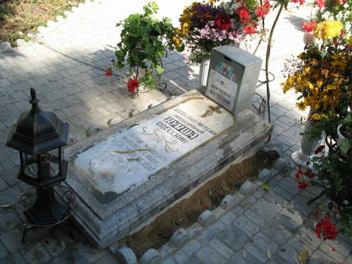 Primera tumba de San Kuksha de Odessa.