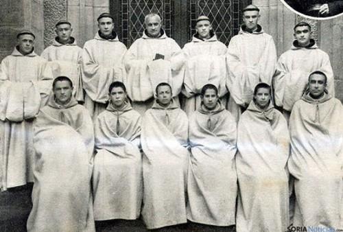 Fotografía de algunos de los mártires cistercienses que van a ser beatificados.