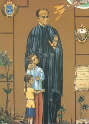 Icono realizado con motivo de la beatificación.