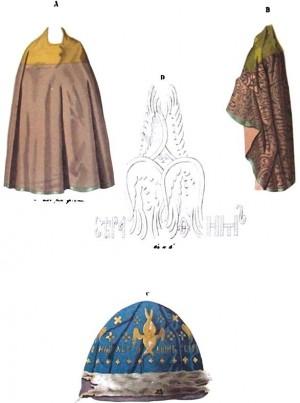 Ornamentos originales del santo.