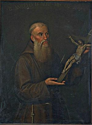 Beato Ángel de Acri. Lienzo de M. Zammatei (1815).