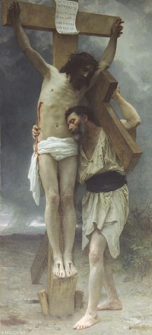 """Compasión"", lienzo del pintor decimonónico William Adolphe Bouguereau. Museo de Orsay, Francia."
