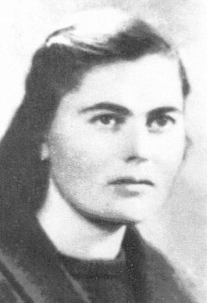 Sierva de Dios María Tuci, virgen y mártir albanesa.