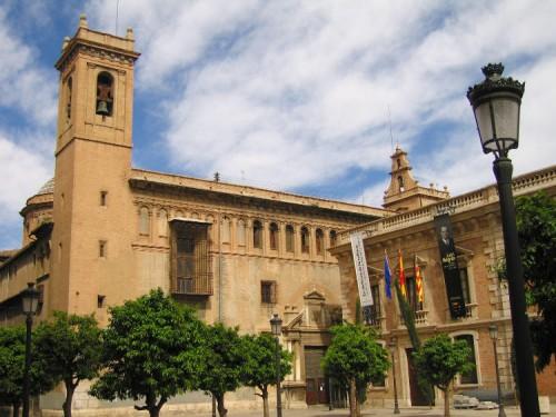 Fachada del Real Colegio Seminario del Corpus Christi, Valencia, España. Foto: J. Díez Arnal.
