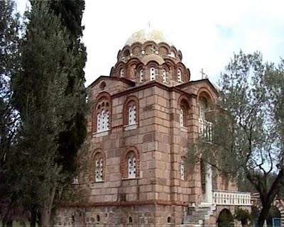 Iglesia de San Lucas en Mitilene, Grecia.