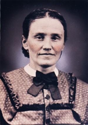 Fotografía de la Beata en sus tiempos de institutriz.