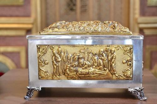 Urna con reliquias del Beato.