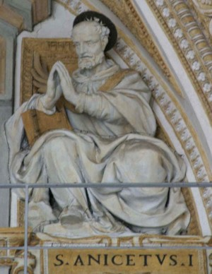 Escultura del Santo. Basílica de San Pedro del Vaticano, Roma (Italia). Fuente: www.stpetersbasilica.org.