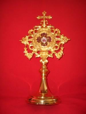 Reliquia del Beato en la iglesia de San Antonio en Constanza, Rumanía.