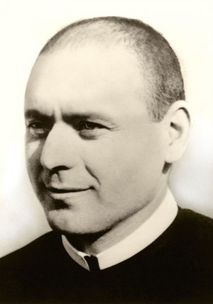 Foto del beato cuando hizo la profesión en el año 1948.