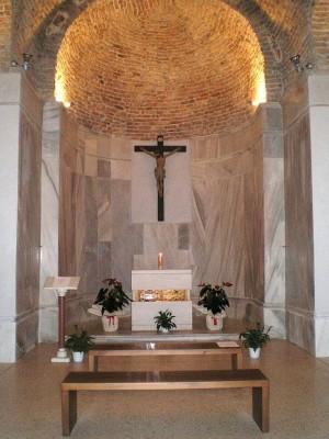 Reliquias de los santos en Vicenza (Italia).