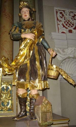 Imagen del Santo venerada en la catedral de Vilnius, Lituania.