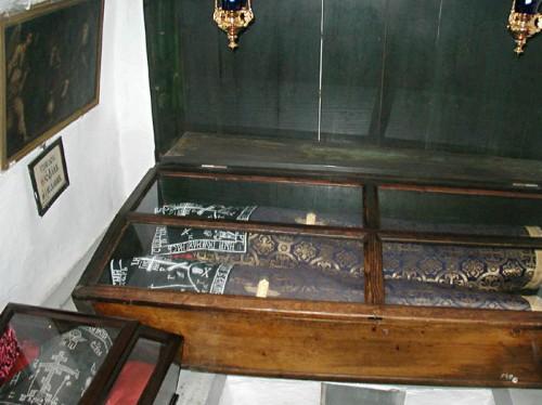 Urna de los Santos Juan y Teófilo.