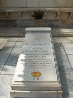 Detalle del sepulcro del Beato.