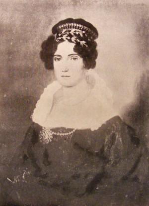 Retrato de Elena (Safta) Brâncoveanu.