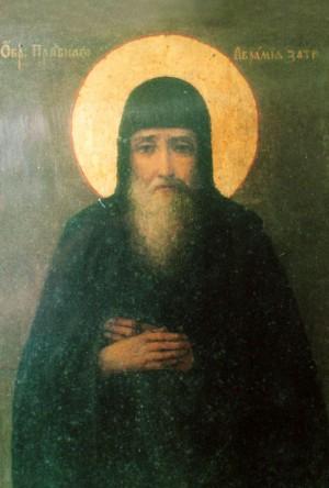 Icono de San Abrahán el Recluso.