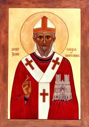 Icono de San Juan de Saint-Denis.