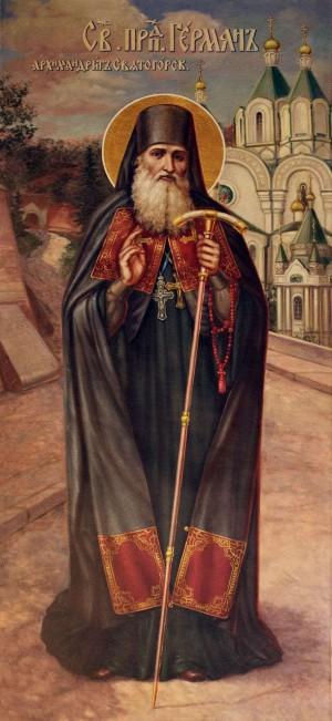 Icono ortodoxo ucraniano del santo.