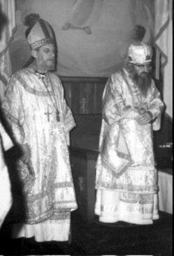 Foto de San Juan Maximovich y San Juan de Saint-Denis.