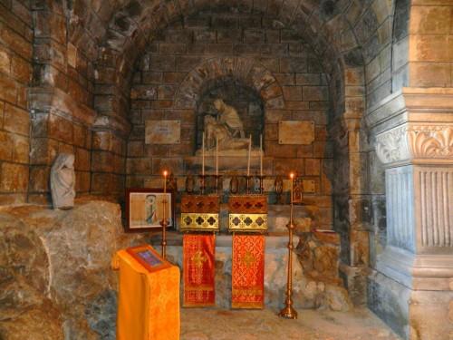 Reliquias de los dos santos. Besançon (Francia).