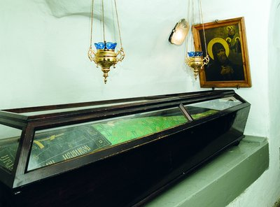 Tumba de San Erasmo monje.