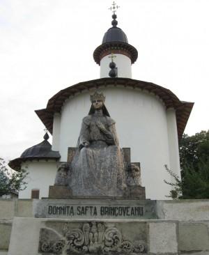 Escultura de Elena (Safta) Brâncoveanu.