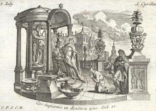 La Santa, como una nueva Mucio Escévola, prefiere quemarse las manos antes que sacrificar a los dioses.