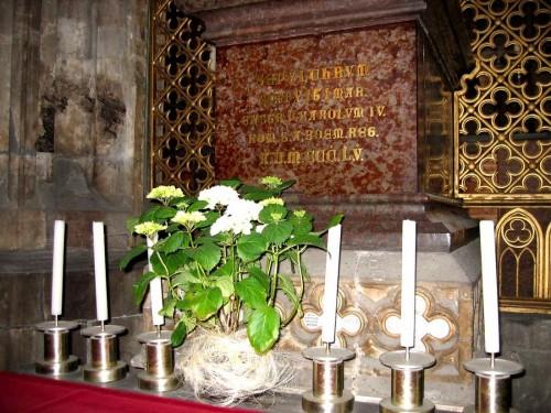 Sepulcro de San Vito en su catedral de Praga, República Checa.