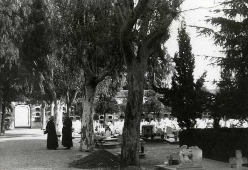 Vista del Cementerio General de Valencia, donde los Beatos fueron enterrados.