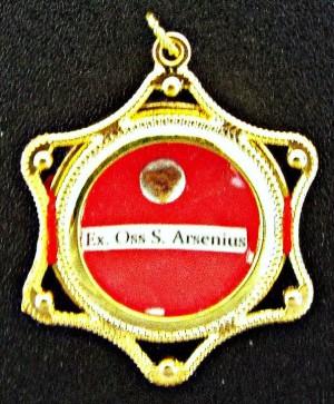 Reliquia propiedad del metropolita Teodosio de la Iglesia Ortodoxa en América.