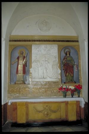Altar de los Santos Flora, Pelayo y Sabigoto en Córdoba, España.