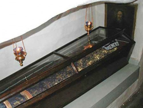 Urna de San Alipio el Iconógrafo.