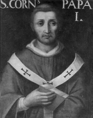 San Cornelio. Giuseppe Franchi, Pinacoteca ambrosiana, Milán.