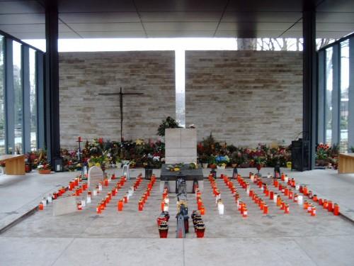 Tumba de la beata en el cementerio central de Münster.