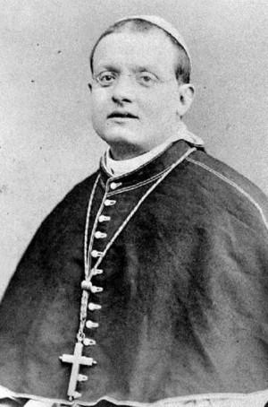 Fotografía del Beato en su atuendo episcopal.