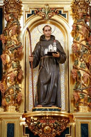 Retablo de la Misión de San Juan de Capistrano.
