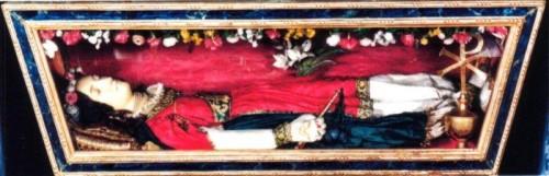 Santa Bonosa, virgen mártir. Paciano, Italia.