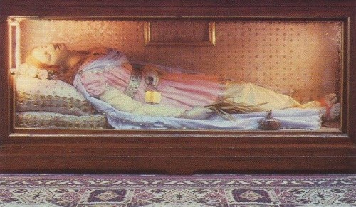 Santa Gaudencia, mártir romana. Bagnocavallo, Italia.