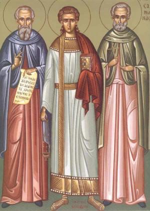 Icono ortodoxo griego moderno.