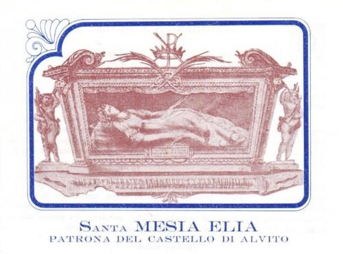 Santa Mesia Elia, mártir.